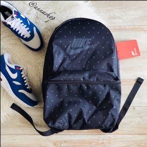 NWT Nike Polka Dot Backpack